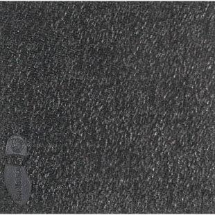 Close up photo of a black rubber sheet