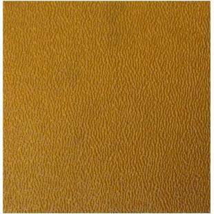 Close up photo of a gold rubber sheet