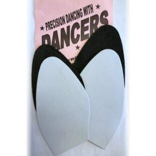 Image of a pair of precision dancing soles for women
