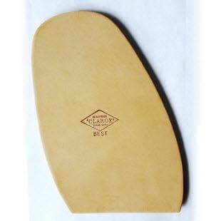 Image displaying a Clarox Best Half Sole for traditional mens shoes and bots