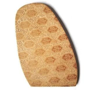 View of a TR Lawman Embossed Leather Half Sole for Traditional mens Shoes