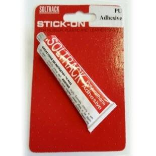 Photo of packaged soltrack adhesive