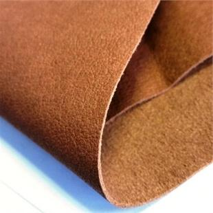 View of a folded sheet of Micro fibre Lining for Shoe making