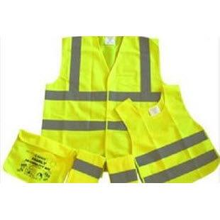 View of a range of high visibility clothing