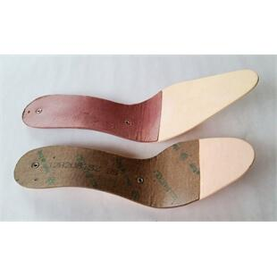 Photo of red and brown blended insoles
