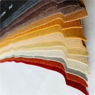 Photo of a collection of colourful Aquiline lining material