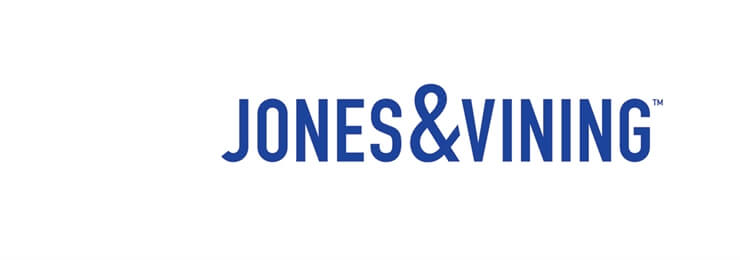 banner image of the jones and vining logo