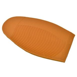 photo of an orange 337 arrow half sole