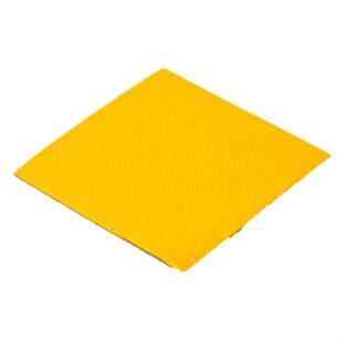 View of yellow IndianaLite Sheeting for Shoe Repairs